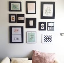 behind the big green door how to create a gallery wall