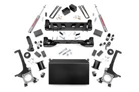 suspension lift kits for toyota tacoma 6in suspension lift kit for 07 15 toyota tundra country