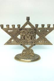antique menorah these vintage hanukkah menorahs are of timeless charm