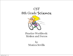the 8th grade cst science practice workbook teacherlingo com
