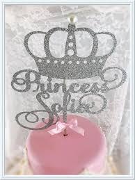 princess cake topper birthday cake topper princess party