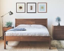 Wooden Beds Frames Wood Bed Frame Etsy