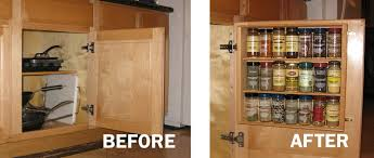 spice cabinets for kitchen how to make your kitchen an accident free area with spice storage