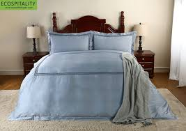 Embroidered Duvet Cover Sets 100 Cotton Sateen 3 Pieces Embroidery Duvet Cover Set Us 134