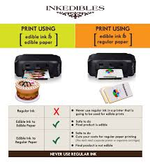 where to print edible images how to save time and money by using your edible ink printer for
