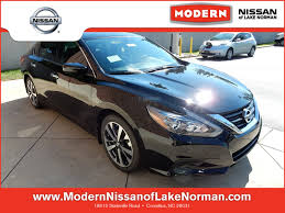nissan altima 2016 trunk space nissan altima in cornelius nc modern nissan of lake norman