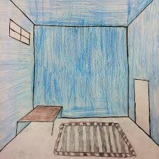Bedroom Design Lesson Plan The Helpful Art Teacher Draw A Surrealistic Room In One Point