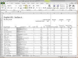 Grade Book Template Excel 6 Excel Gradebook Template Procedure Template Sle