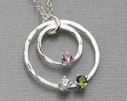birthstone pendants for birthstone pendant etsy