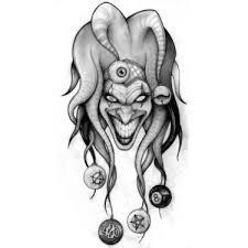 gorilla head and dagger tattoo design