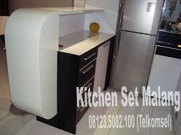 Kitchen Set Minimalis Hitam Putih Toko Kitchen Set Malang Furniture Furniture Minimalis