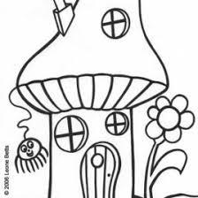 free printable kids colouring toadstool house u2013 leone annabella
