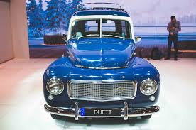 classic volvo five classics on the main floor of the 2017 new york auto show