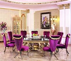 Purple Dining Room Chairs Purple Dining Room Cfresearch Co