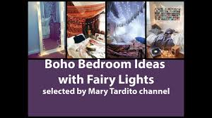Lights Room Decor by Boho Bedroom Ideas With Fairy Lights Room Decor Bohemian Decor