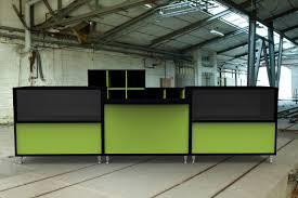 Black Salon Reception Desk Salon Receptions Reception Desks Reception Desks From