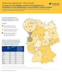 Immokauf 24 Postbank Studie Wo Sich Der Immobilienkauf Richtig Lohnt Der