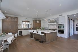 distressed white kitchen island white kitchen with distressed brown island contemporary kitchen