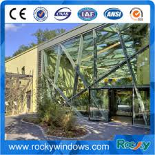 Curtain Wall Fabricator China Rocky Fabrication And Engineering Aluminum Glass Curtain