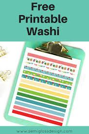 free printable washi tape for august semigloss design