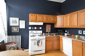 this is how to deal with honey oak cabinets paint the walls