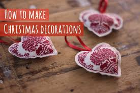 how to make fabric christmas decorations youtube