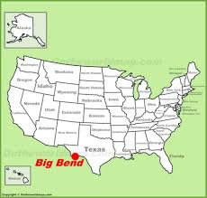 map usa big big bend national park maps usa maps of big bend national park