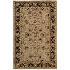 Overstock Area Rug Nourison Overstock India House Taupe 5 Ft X 8 Ft Area Rug 416193