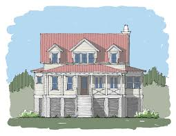 coastal home plans half moon bay u2014 flatfish island designs u2014 coastal home plans