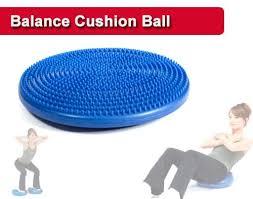 balance cushion disc ball world fitness
