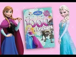 disney frozen activity book queen elsa anna sticker book