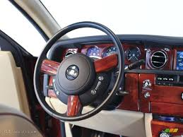 rolls royce steering wheel 2009 rolls royce phantom sedan moccasin consort red steering wheel