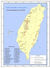 Map Of Taiwan Probabilistic Seismic Hazard Assessment For Taiwan