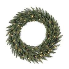 holiday time pre lit 18 christmas garland multi lights shop artificial christmas wreaths at lowes com