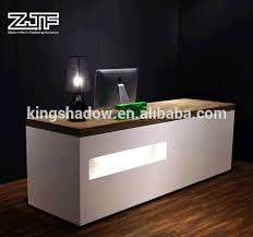 Tufted Reception Desk 5 Off Beauty Equipment Cash Counter Table L Shaped Reception Desk
