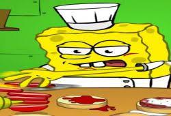 jeux de bob l 駱onge en cuisine bob l éponge dans la cuisine crabe croustillant jeu de cuisine