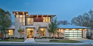Lights In Soffit Outside by Light Filled Home With Stone Walls And Unique Style Cornerstone