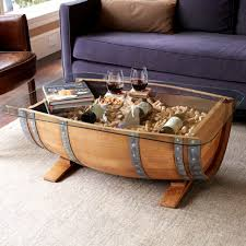Barrel Bar Table Coffee Tables How To Attach A Tabletop To A Wine Barrel Wine