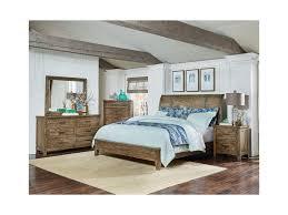 standard furniture nelson rustic king sleigh bed dunk u0026 bright