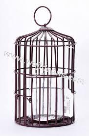 wedding decoration bird cage in metal wire for home garden