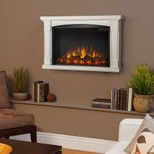 real flame brighton 34 inch slimline wall mount electric fireplace
