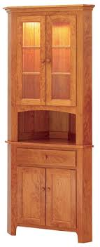 corner kitchen hutch furniture keystone shaker 25 5 corner hutch corner hutches kloter farms
