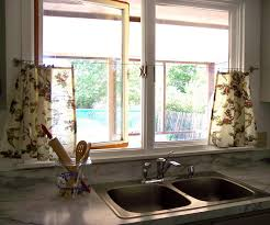 Kitchen Window Treatment Ideas Pictures by Curtain Modern Kitchen Curtains Designs Unique Cool For Small