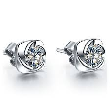 back diamond earrings gold earrings exporter from jaipur