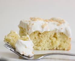 coconut tres leches cake u2013 gastronome