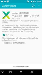 update android os infinix note 2 upgrade to android os version 6 0 marshmallow