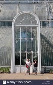 Royal Botanic Gardens Kew Richmond Surrey Tw9 3ab The Large Entrance Door To The Palm House The Royal Botanic