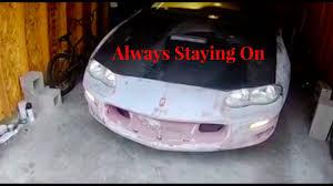 02 camaro headlights 93 02 camaro headlight problem