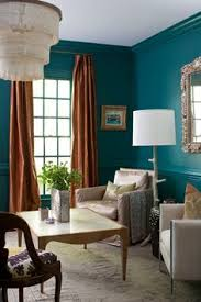feature wall living room teal and gold living room living room