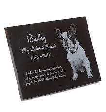pet memorial custom engraved granite pet memorial plaque black